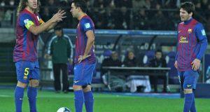 Puyol_Xavi_Messi_FC_Barcelona_Team_of_the_Year_2011