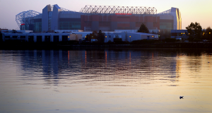 Old_Trafford,_reflected